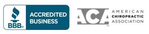 logotipo de la asociación quiropráctica americana